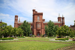 The Smithsonian Castle in Washington, DC. Royalty Free Stock Images