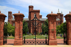 The Smithsonian Castle in Washington, DC. Royalty Free Stock Image