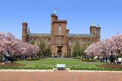 Smithsonian centrum informacyjne, Waszyngton D.C Zdjęcia Royalty Free
