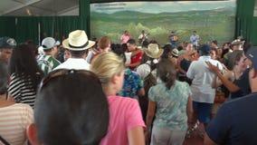 Smithsonian Folklife Festival Dancing stock video