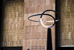 Smithsonian gedenkteken Royalty-vrije Stock Foto's