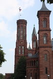 Smithsonian Institution. Architectural details of exterior of Smithsonian Institution, Washington D.C, U.S.A Royalty Free Stock Photography