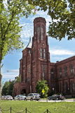 Smithsonian institution building Royalty Free Stock Photography