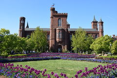 The Smithsonian Institution Building (Castle) in Washington, DC Stock Photos