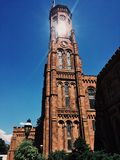 The Castle - Smithsonian Institution Building royalty free stock image