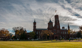 Smithsonian Institution Building on the National Mall. Washington D.C Royalty Free Stock Images