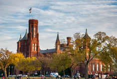 Smithsonian Institution Building on the National Mall, Washington. D.C Royalty Free Stock Image