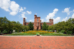 The Smithsonian Institution building Royalty Free Stock Image