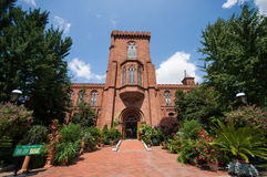 The Smithsonian Institution building Stock Photography