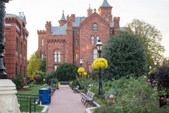 Smithsonian Institution Castle Stock Photography