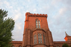 Smithsonian Institution Castle Stock Photo