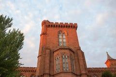 Smithsonian Institution Castle Stock Photo