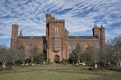 Smithsonian Institution Castle Royalty Free Stock Images