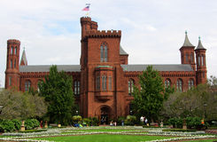 Smithsonian Institution kasztel, washington dc fotografia royalty free