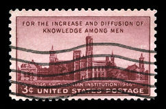 Smithsonian Institution US Postage Stamp Stock Images
