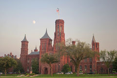 Smithsonian Institution, Washington DC. Smithsonian Castle and Information Center of the Smithsonian Institution, Washington DC Royalty Free Stock Photos