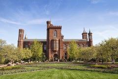 Smithsonian institutionell byggnad Arkivfoto