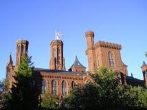 Smithsonian Kasteel - Washington, gelijkstroom Stock Fotografie