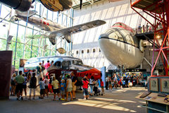 Smithsonian Krajowy powietrze i Astronautyczny muzeum Zdjęcie Stock