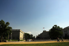 Smithsonian Museum in Washington Gleichstrom Stockfotos