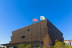 Smithsonian National Museum of African American History and Culture on November 5, 2016 in Washin Stock Photos