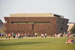 Smithsonian nationellt museum av afrikansk amerikanhistoria och kultur i Washington DC Royaltyfri Fotografi