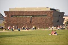Smithsonian nationellt museum av afrikansk amerikanhistoria och kultur i Washington DC Fotografering för Bildbyråer