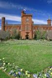 Smithsonian-Schloss, Grenzstein des Washington DC Lizenzfreie Stockfotografie