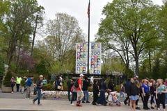 Smithsonian zoo w Waszyngton, DC zdjęcie royalty free