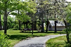 Smithtown blydenburgh park historic heritage education royalty free stock images