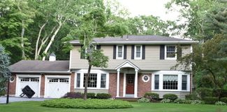 Smithtown new york state usa typical real estate. There is example of most typical architecture of real estate and design in the area of Smithtown city in New stock photography