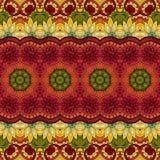Sömlös abstrakt stam- modell (vektorn) Royaltyfria Foton