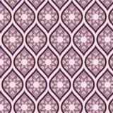 Sömlös bakgrund i arabesquestil Royaltyfria Foton