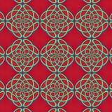 Sömlös bakgrund med monogram Royaltyfria Bilder