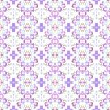 Sömlös bakgrund med vattenfärgcirklar Cirklar för handteckningsvattenfärg Bakgrund för sömlös modell för konst färgrik Arkivfoton