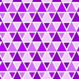 Sömlös bakgrundsmodell för trianglar Arkivfoto