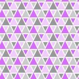 Sömlös geometrisk modell för trianglar Arkivfoto