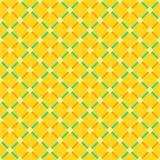 Sömlös gingham kvadrerar bakgrundsmodellen Royaltyfri Fotografi