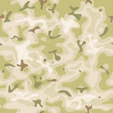 Sömlös militär kamouflageuppsättning Arkivbilder