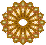 Sömlös modell för Arabesque Arkivbild