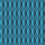 Sömlös modell för gullig olik vektor Blå färgbakgrund Royaltyfria Foton