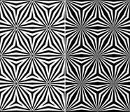 Sömlös triangelbeståndsdelmodell Royaltyfria Foton