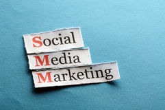 Smm abbreviation Royalty Free Stock Images