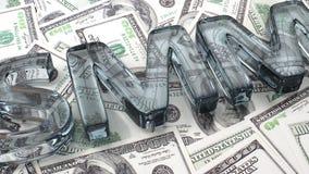 SMM auf Dollars Stockfotografie