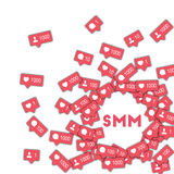 SMM. Royalty Free Stock Photography