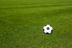 smoły futbolowa ilustracyjna piłka nożna Fotografia Stock