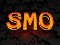 SMO - Ottimizzazione sociale di media Fotografie Stock