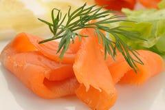 Smocked Salmon Stock Photo