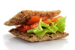 Smocked Salmon Snack Stock Photo