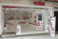 Smoeoy frozen yogurt Royalty Free Stock Images